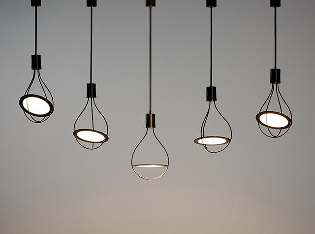 圆形oled照明面板应用设计案例