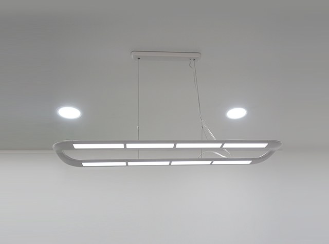 320mm*110mmOLED照明面板应用设计案例