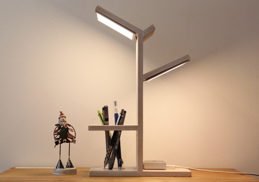 100mm*100mmOLED照明面板应用设计案例
