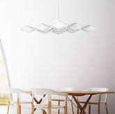 OLED吊灯安装案例