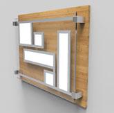 OLED硬性照明面板展示
