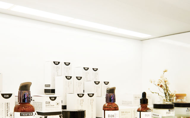 BELPORT化妆品展示OLED照明