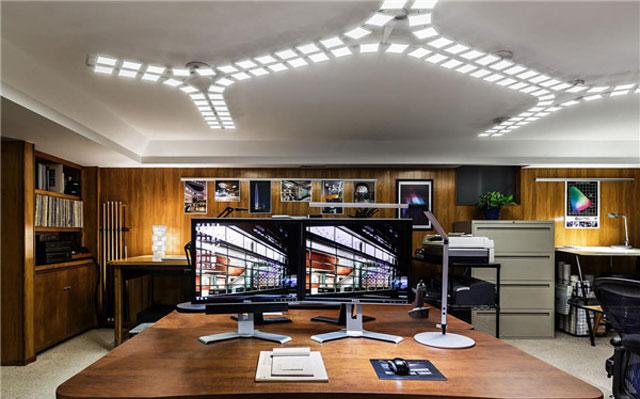 办公室装修—OLED照明效果