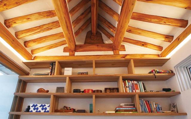 韩屋,木质结构OLED照明