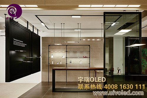 上海宇瑞解说开发OLED室内照明灯具应注意的问题