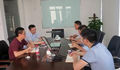 宁波百立光电总经理杨建峰一行来访UIV OLED照明,探讨合作
