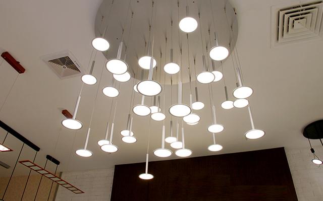 别墅装修—OLED照明效果