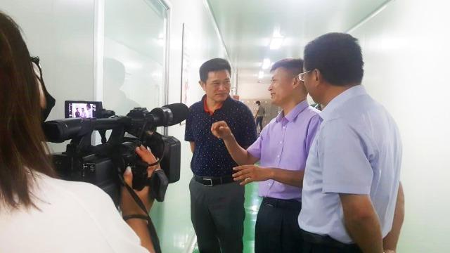 县政协主席何全根一行来访我司参观指导工作|UIV CHEM