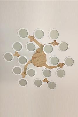 UIV OLED定制吊灯 圆形光源组合安装吊灯定制