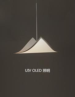 UIV OLED吊灯定制-300X300柔性OLED创意型吊灯
